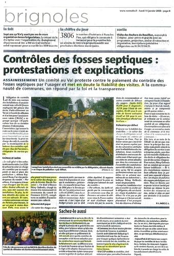 Article janv 2008 etude de sol groupe sae for Etude du sol prix