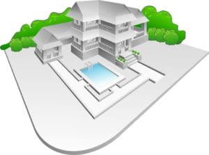 Choisir l'implantation de votre piscine