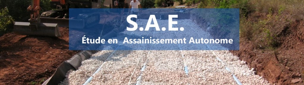SUD ASSAINISSEMENT ENVIRONNEMENT : Étude Assainissement Autonome, Hydrogéologie, Pédologie,