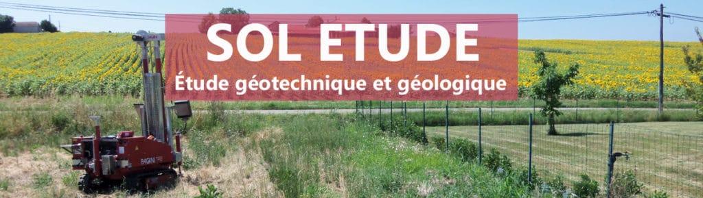 SOL ÉTUDE : Etude de Sol Géotechnique Géologie