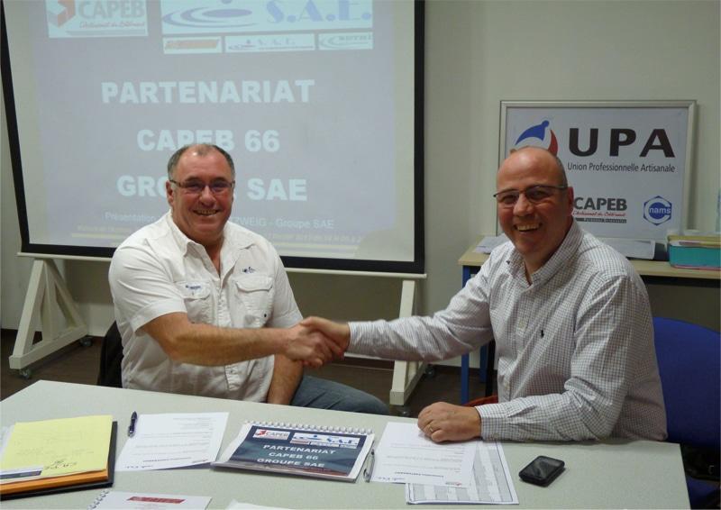 Partenariat Étude de Sol, CAPEB66 et GROUPE SAE