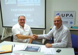 Signature Partenariat Capeb 66