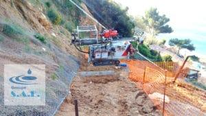 Études de sols avec accès difficiles