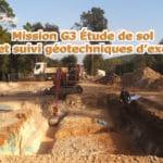 Mission G3 Étude de sol – Étude et suivi géotechniques d'exécution