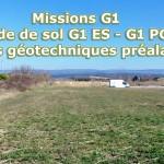 Missions G1 ES – G1 PGC – Etudes géotechniques préalables